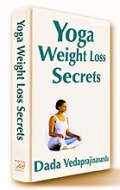 Natural, sustained weight loss based on yoga, meditation and vegetarian diet.