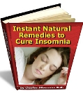 Instant Natural Remedies to cure Insomnia